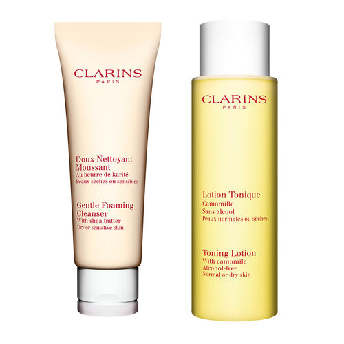 Cleansing Duo - Dry to Sensitive Skin
