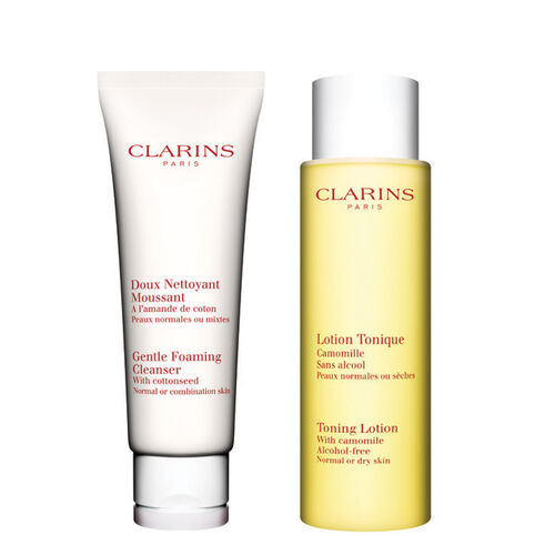 Cleansing Duo for Normal to Combination Skin