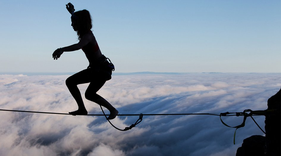 Are You Brave Enough for Slackline?