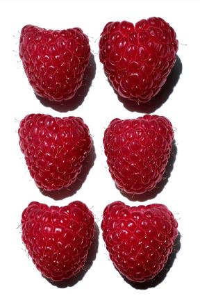 Organic raspberry water