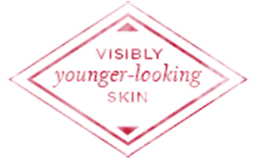 Visibly younger looking skin
