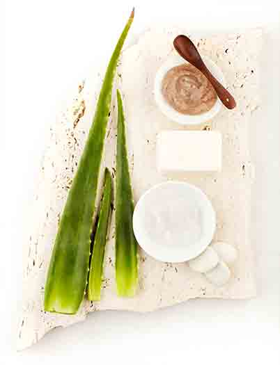 Pump it up with aloe vera!