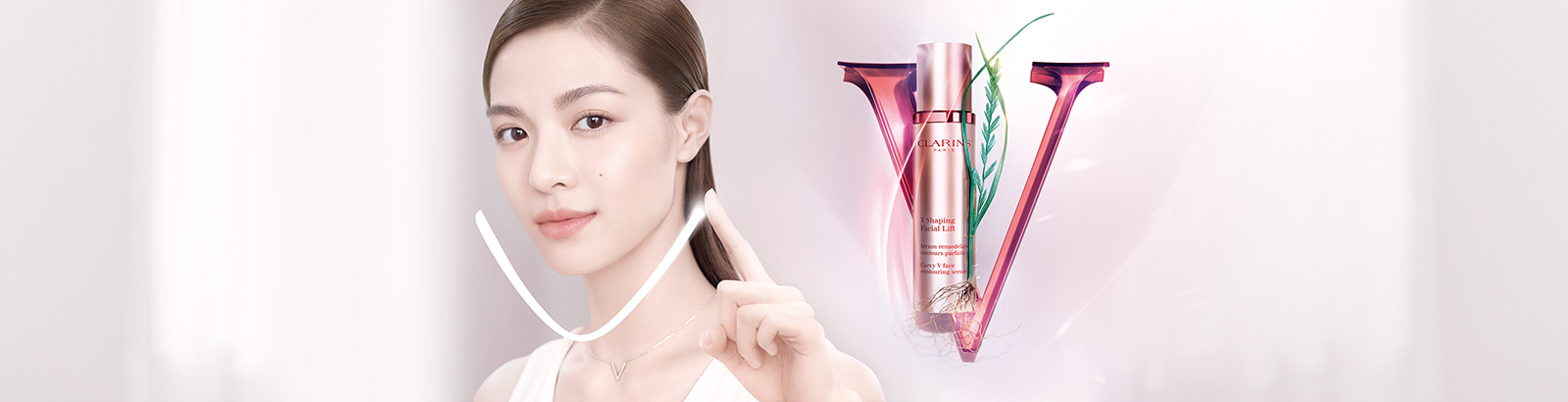 V Shaping Facial Lift Serum- Clarins